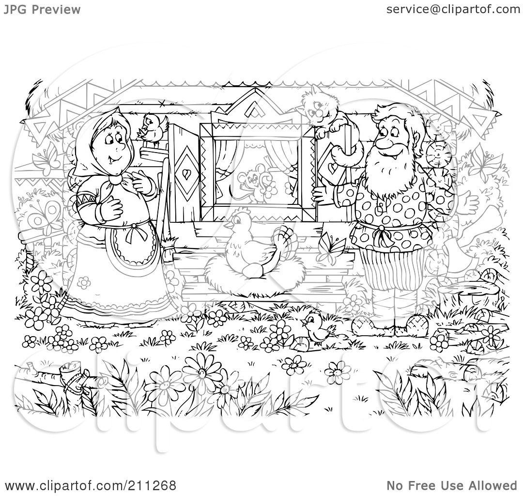 Coloring Pages Of Animals That Lay Eggs : Royalty free rf clipart illustration of a coloring page