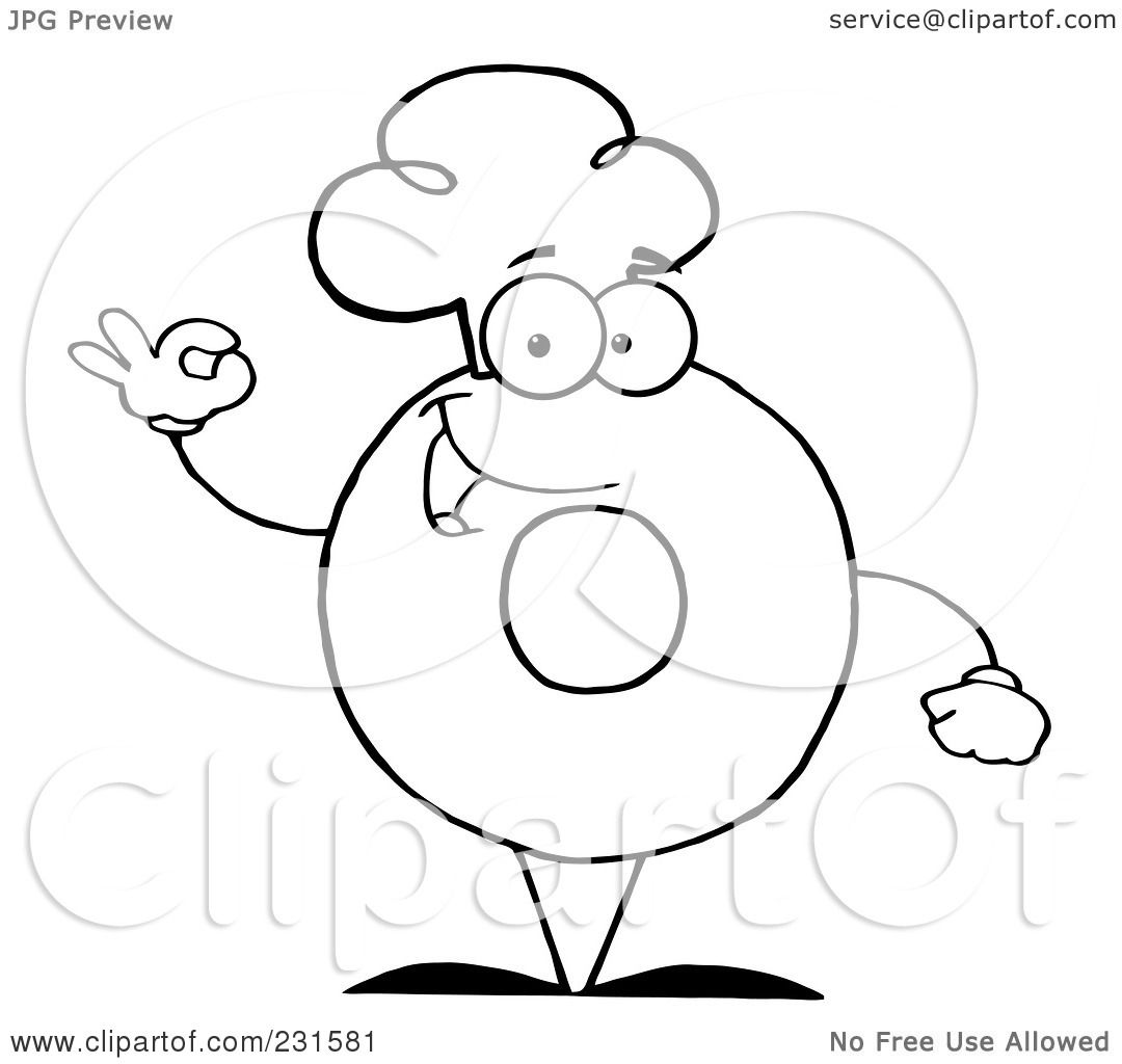 Chef Hat Coloring Page Coloring Coloring Pages