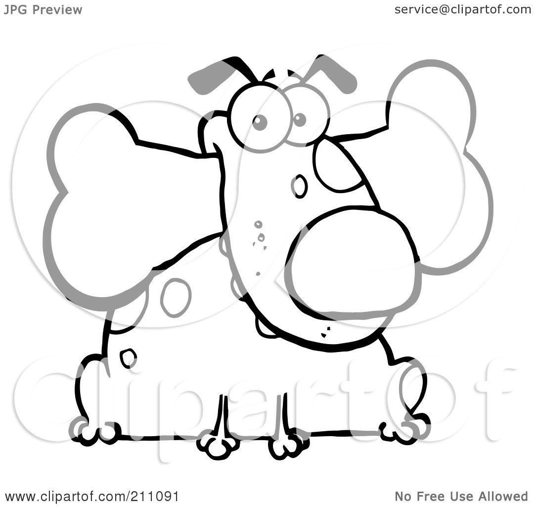 royalty free rf dog bone clipart illustrations vector graphics 6
