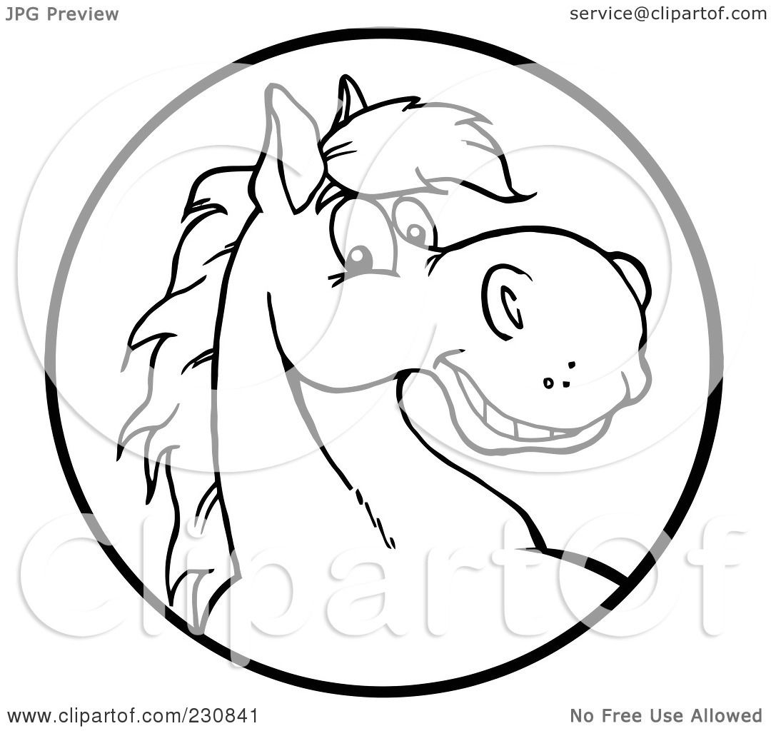 Royalty-Free (RF) Clipart Illustration of a Coloring Page ...