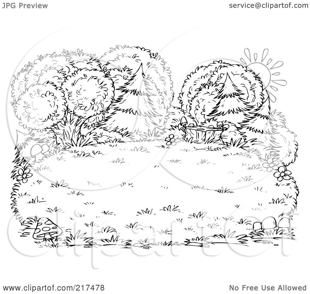 ... RF) Clipart Illustration Of A Coloring Page Outline - 1080x1024 - jpeg