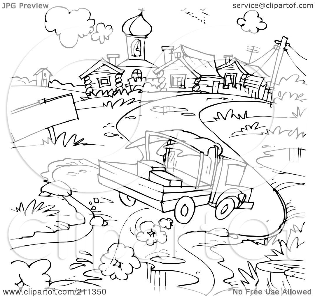construction sign coloring pages - photo#37
