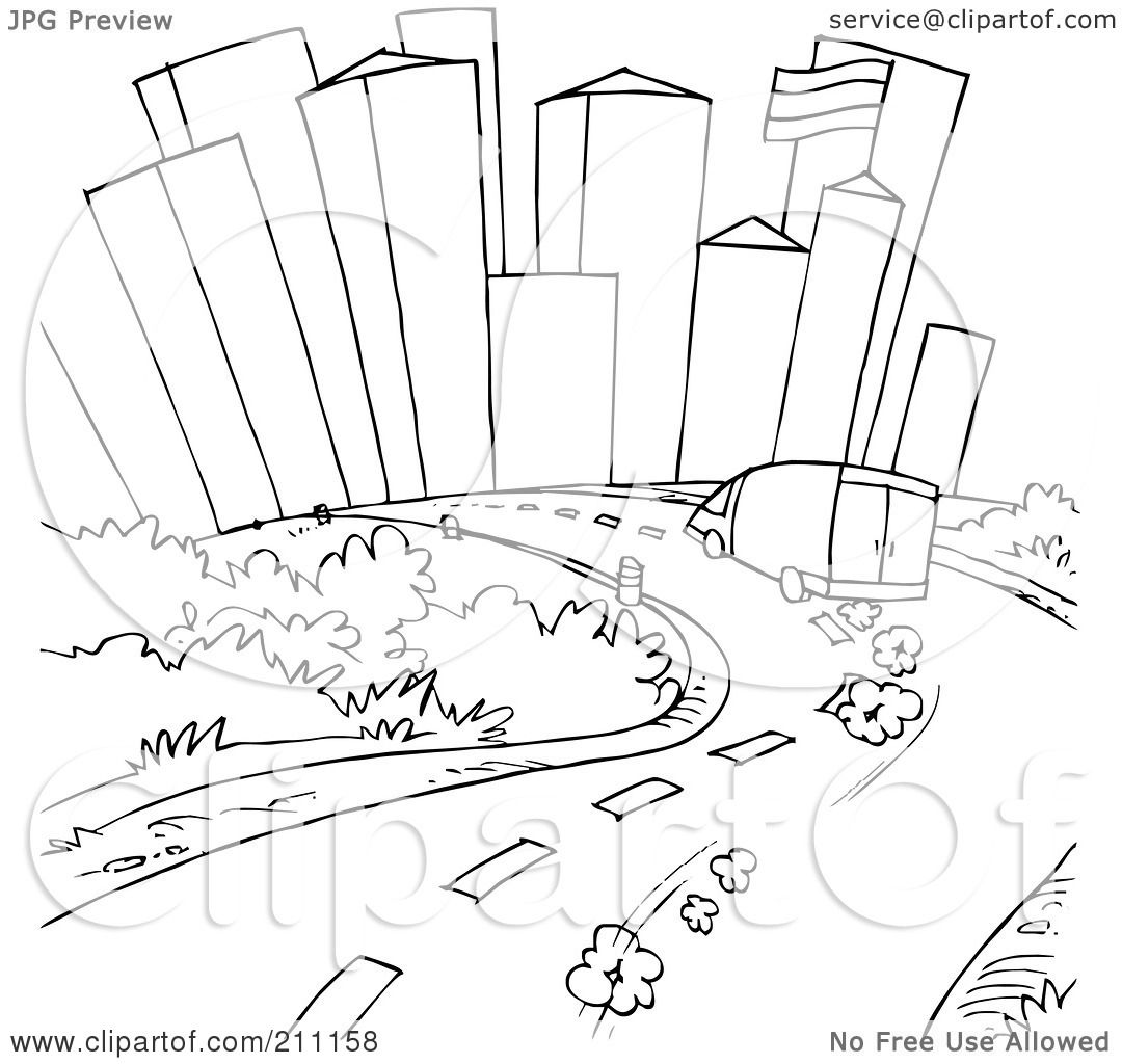 Icy Roads Coloring PagesRoadsPrintable Coloring Pages Free Download