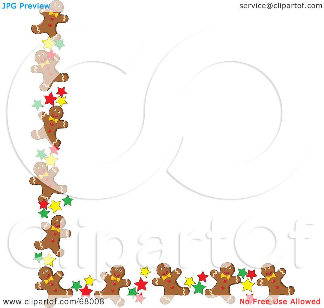 free christmas cookie borders clip art - photo #47