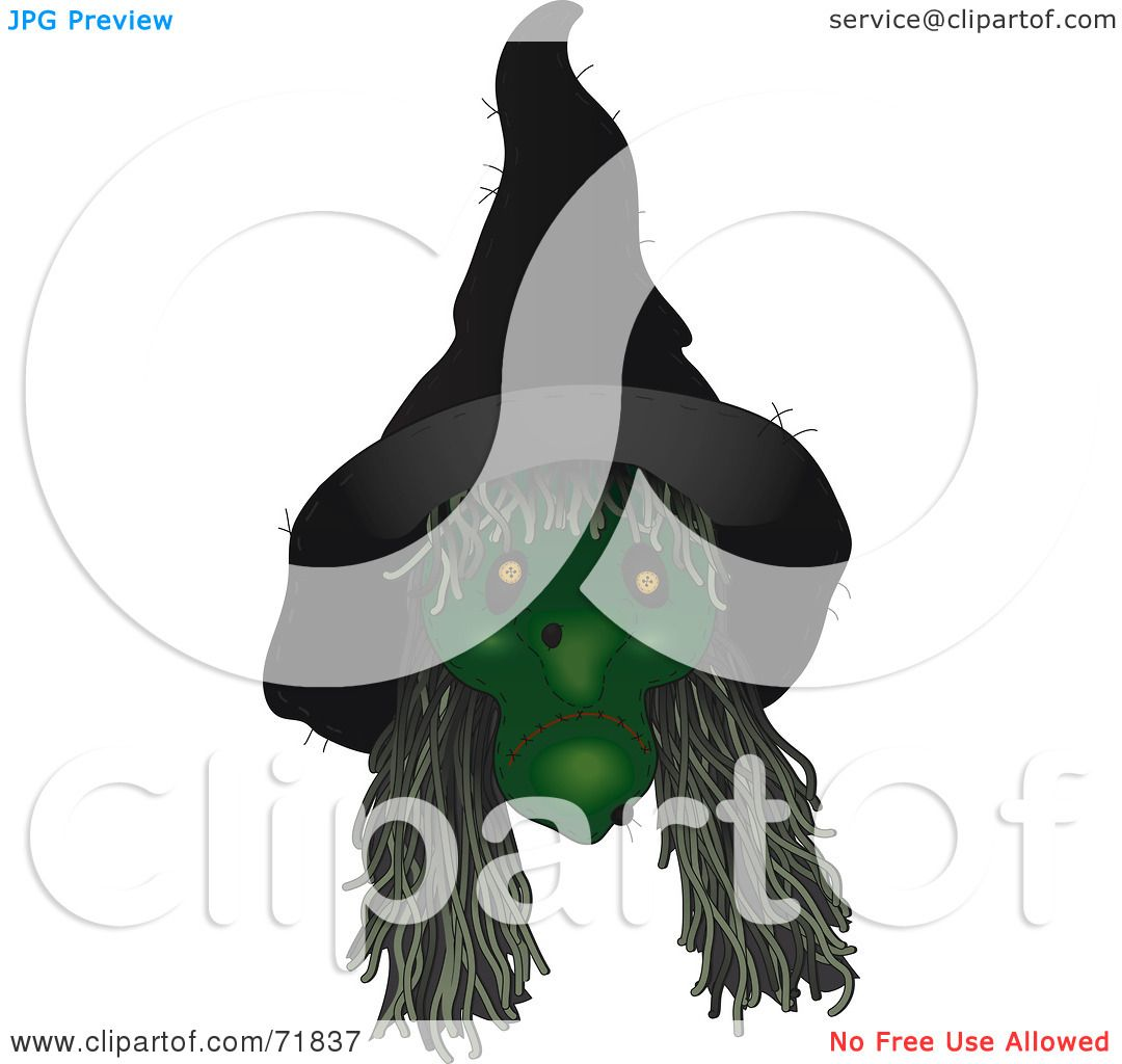 Royalty Free Rf Clipart Illustration Of A Creepy Green
