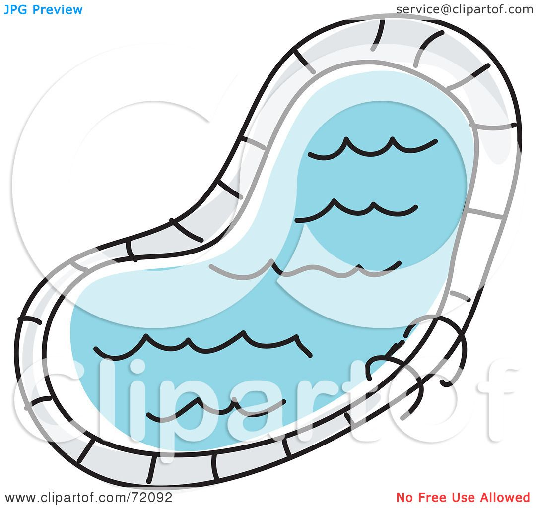 Royalty-Free (RF) Clipart Illustration of a Curved ...