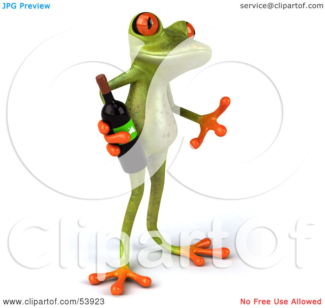 Royalty Free Rf Clipart Illustration Of A Cute 3d Green