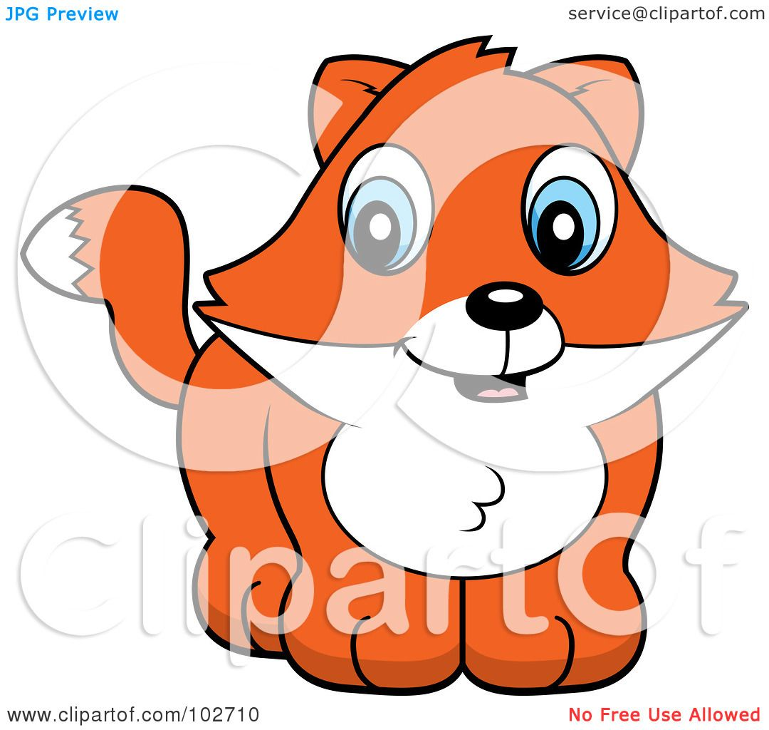 Royalty-Free (RF) Clipart Illustration of a Cute Baby