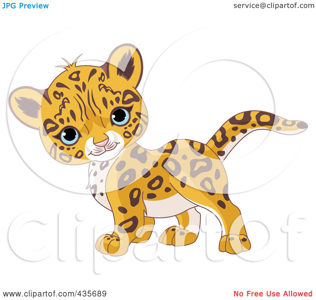 cute jaguar clipart - photo #20
