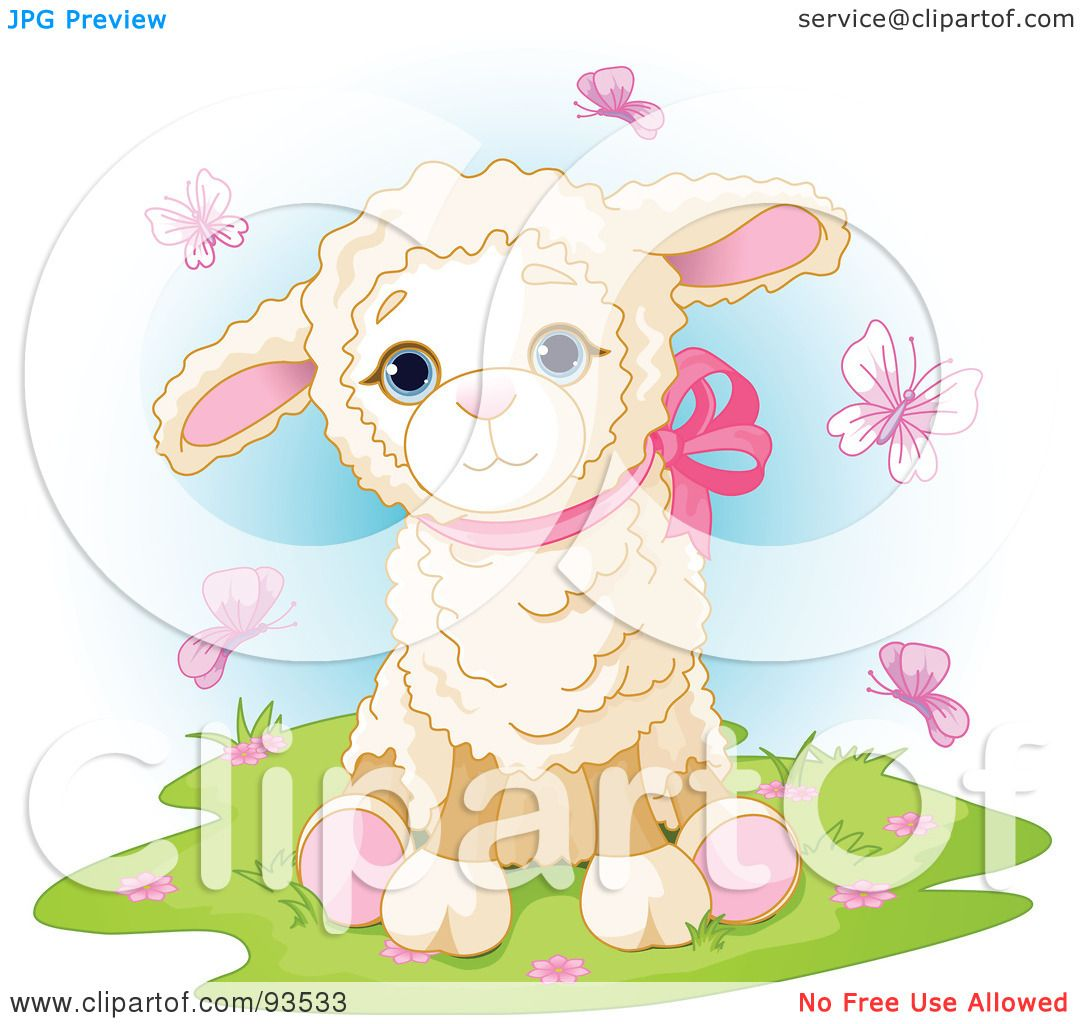 Royalty-Free (RF) Clipart Illustration of a Cute Red