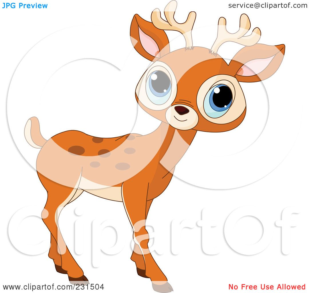 Royalty-Free (RF) Clipart Illustration of a Cute Little ...