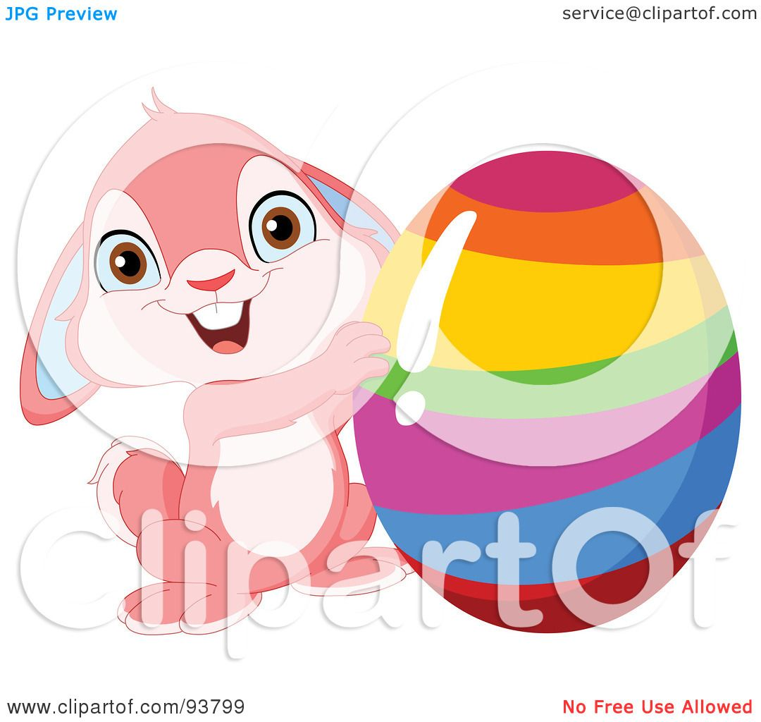 Royalty Free Rf Clipart Illustration Of A Cute Pink