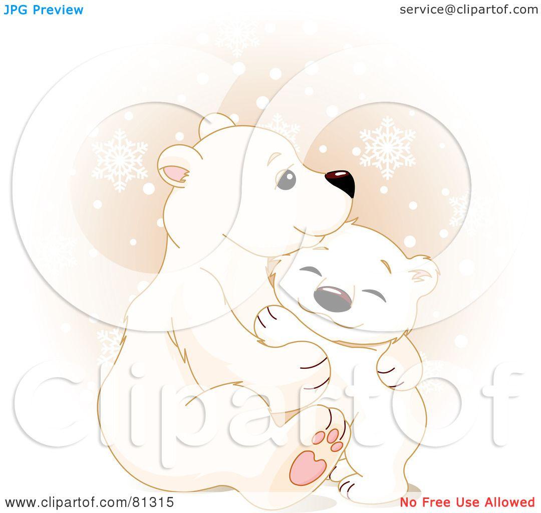 Royalty-Free (RF) Clipart Illustration of a Cute Polar ...
