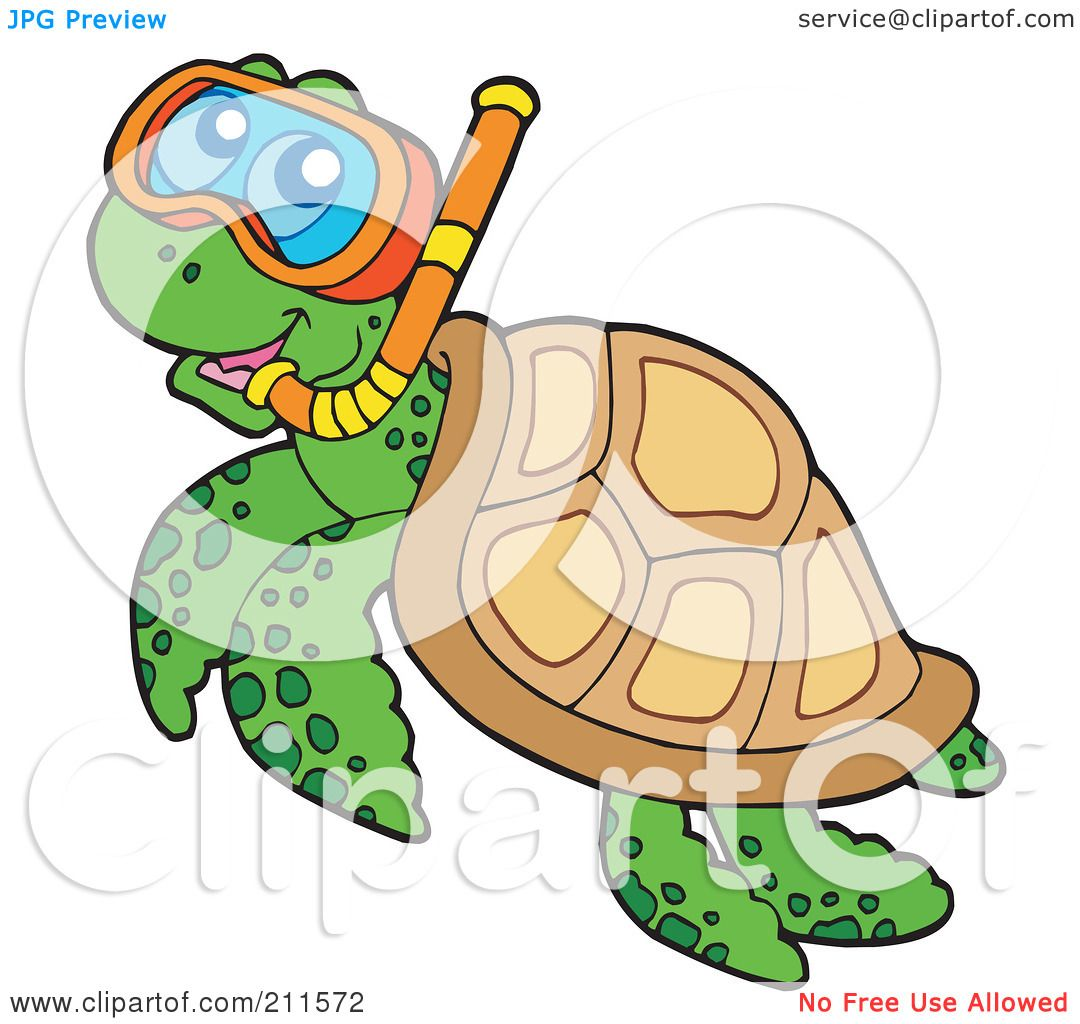 Royalty-Free (RF) Clipart Illustration of a Cute ...