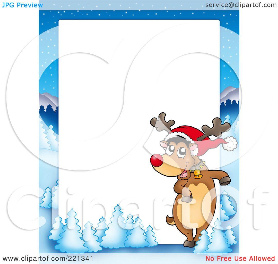 Watch more like Reindeer Border Clip Art