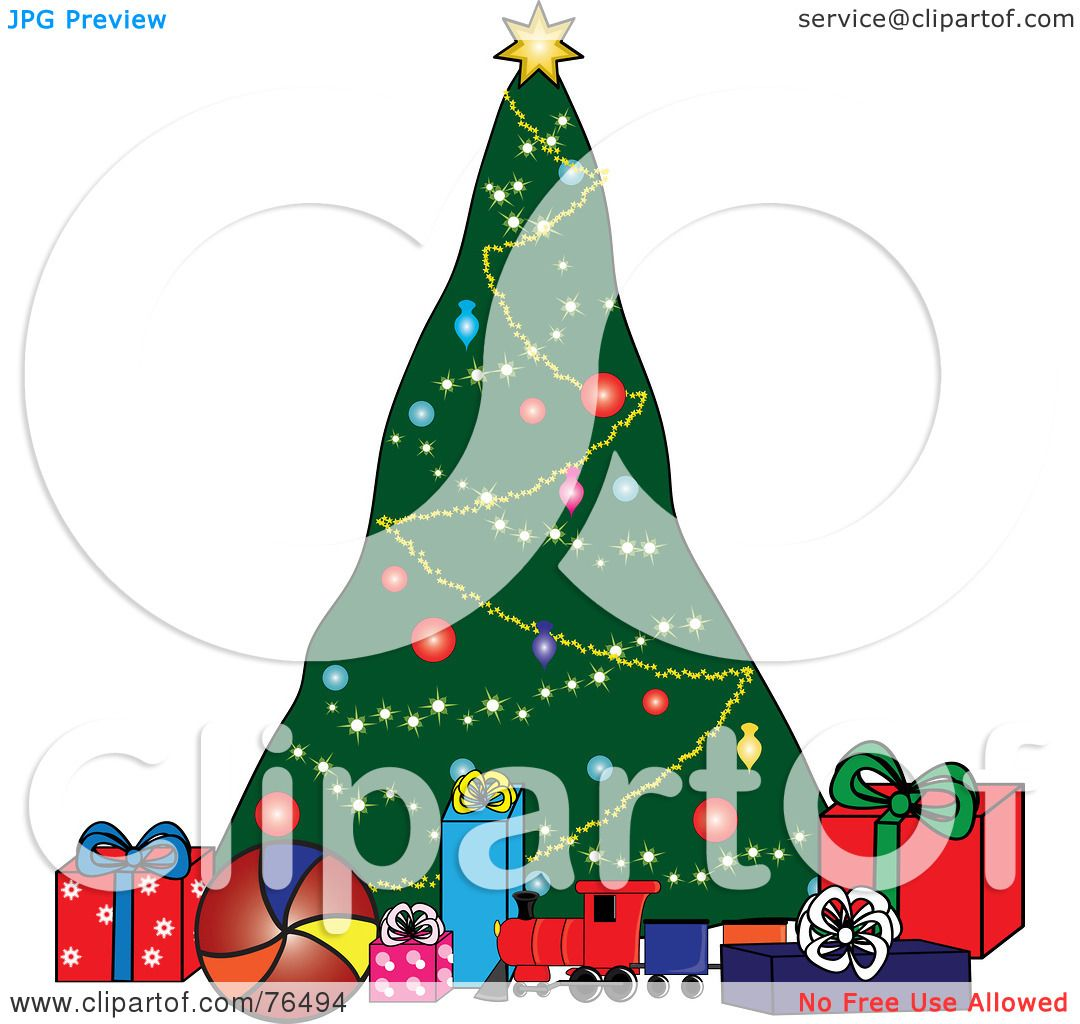 Royalty-Free (RF) Clipart Illustration of a Decorated ...