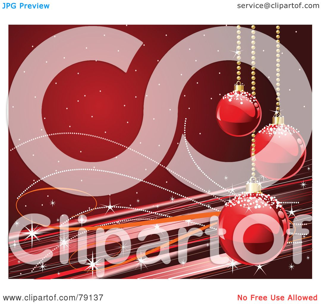 Royalty Free Rf Clipart Illustration Of A Deep Red