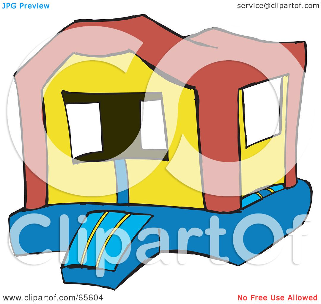 free bounce house clipart - photo #45