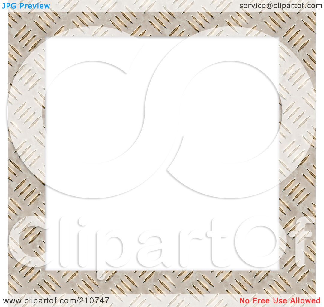 Royalty-Free (RF) Clipart Illustration of a Diamond Plate ...