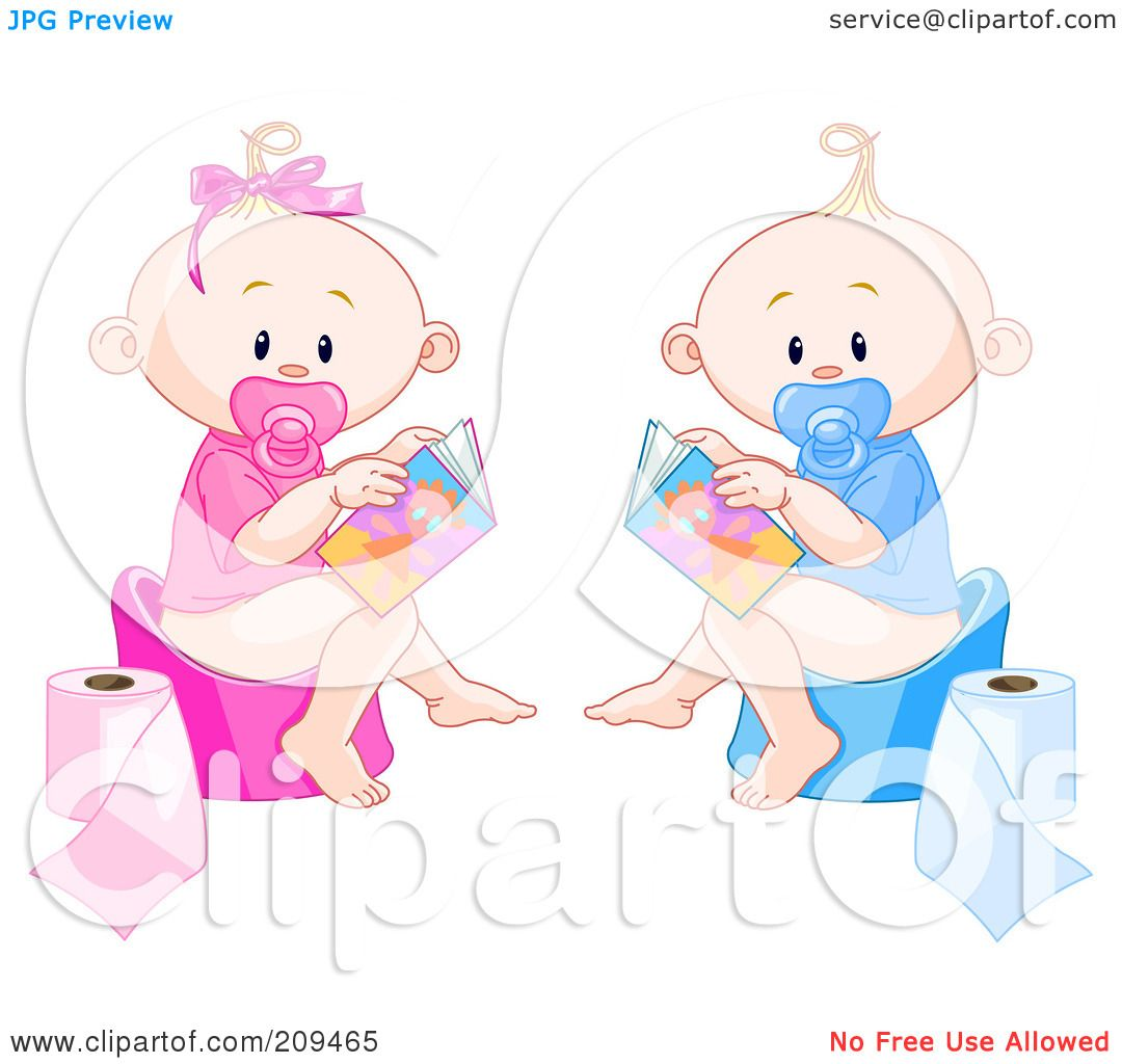 Boy Potty Clipart Royalty-free (rf) clipart