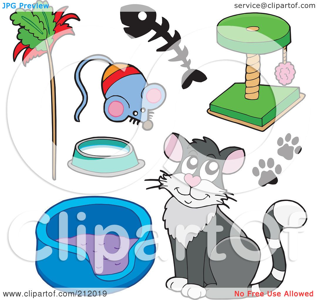 clipart cat toys - photo #15