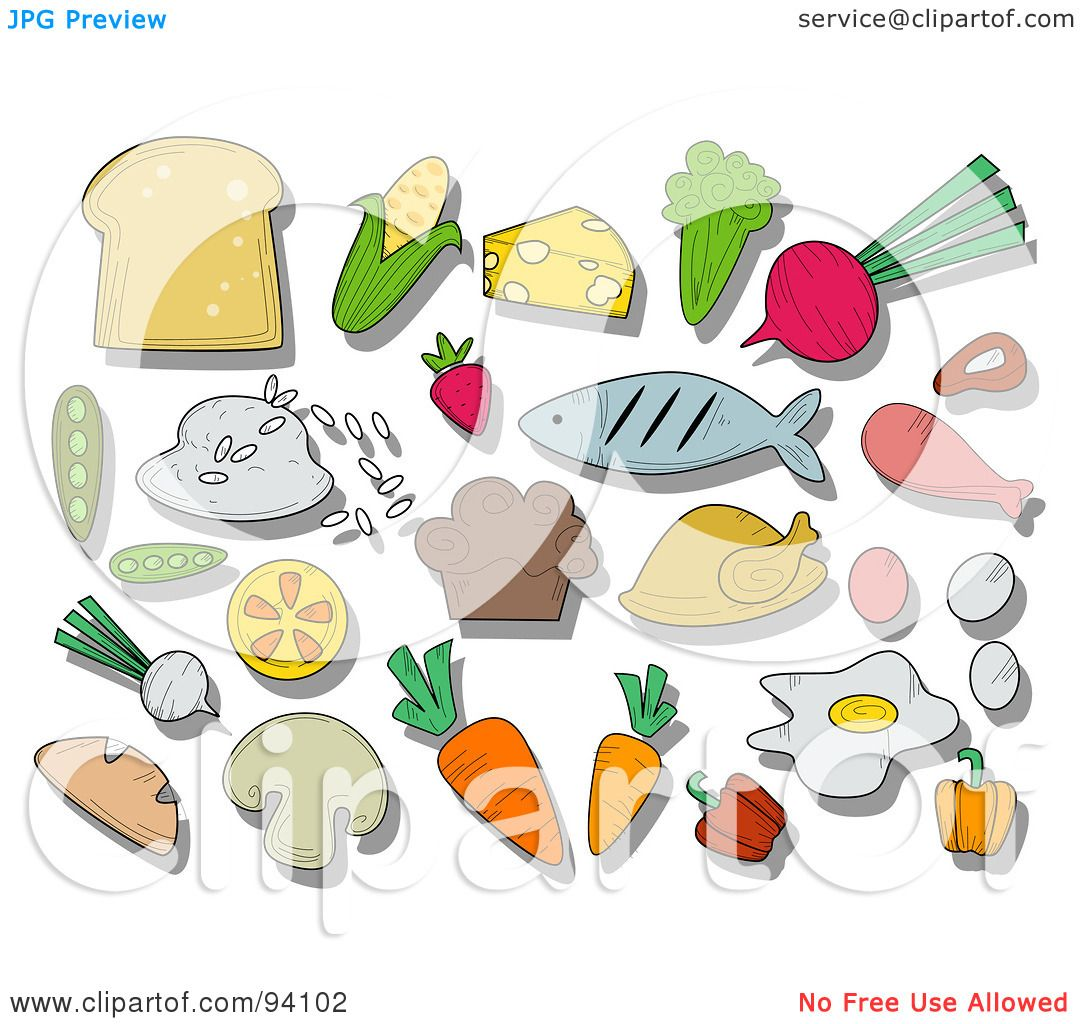 Royalty-Free (RF) Clipart Illustration of a Digital Collage