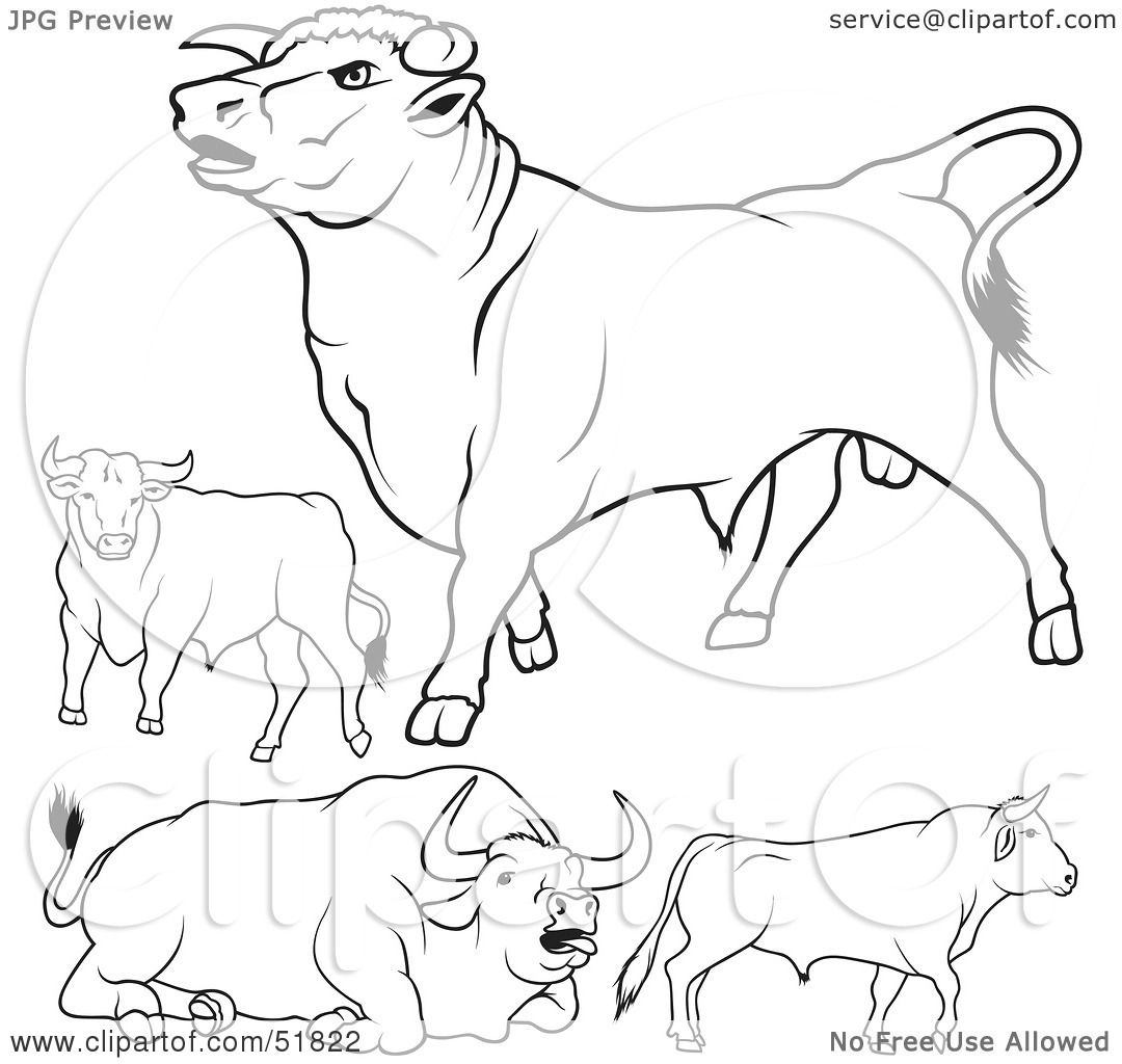 royalty free rf clipart illustration of a digital collage of black
