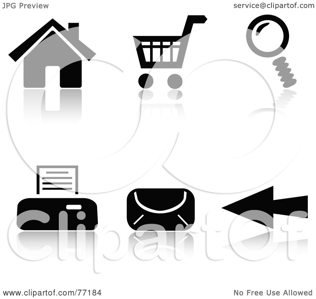 Internet Clipart Black And White
