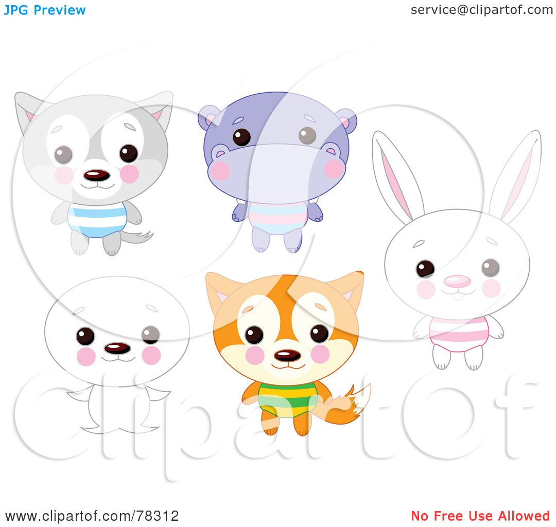 animals coloring pages free screenshot