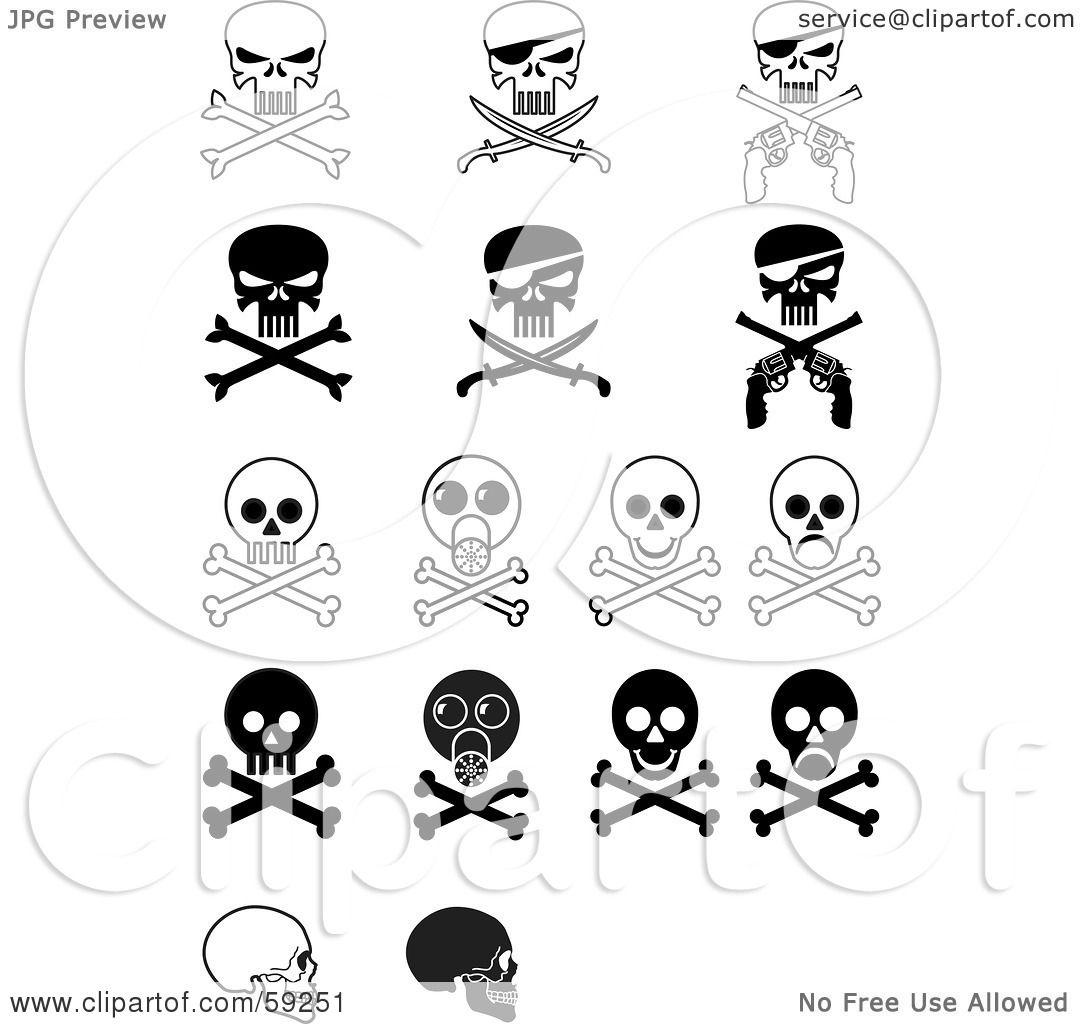 ... Evil Skull And Crossbones With Fire , Evil Skull And Crossbones