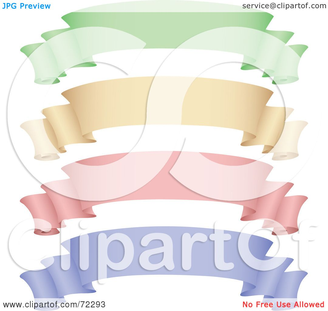 royalty free rf clipart illustration of a digital collage of green