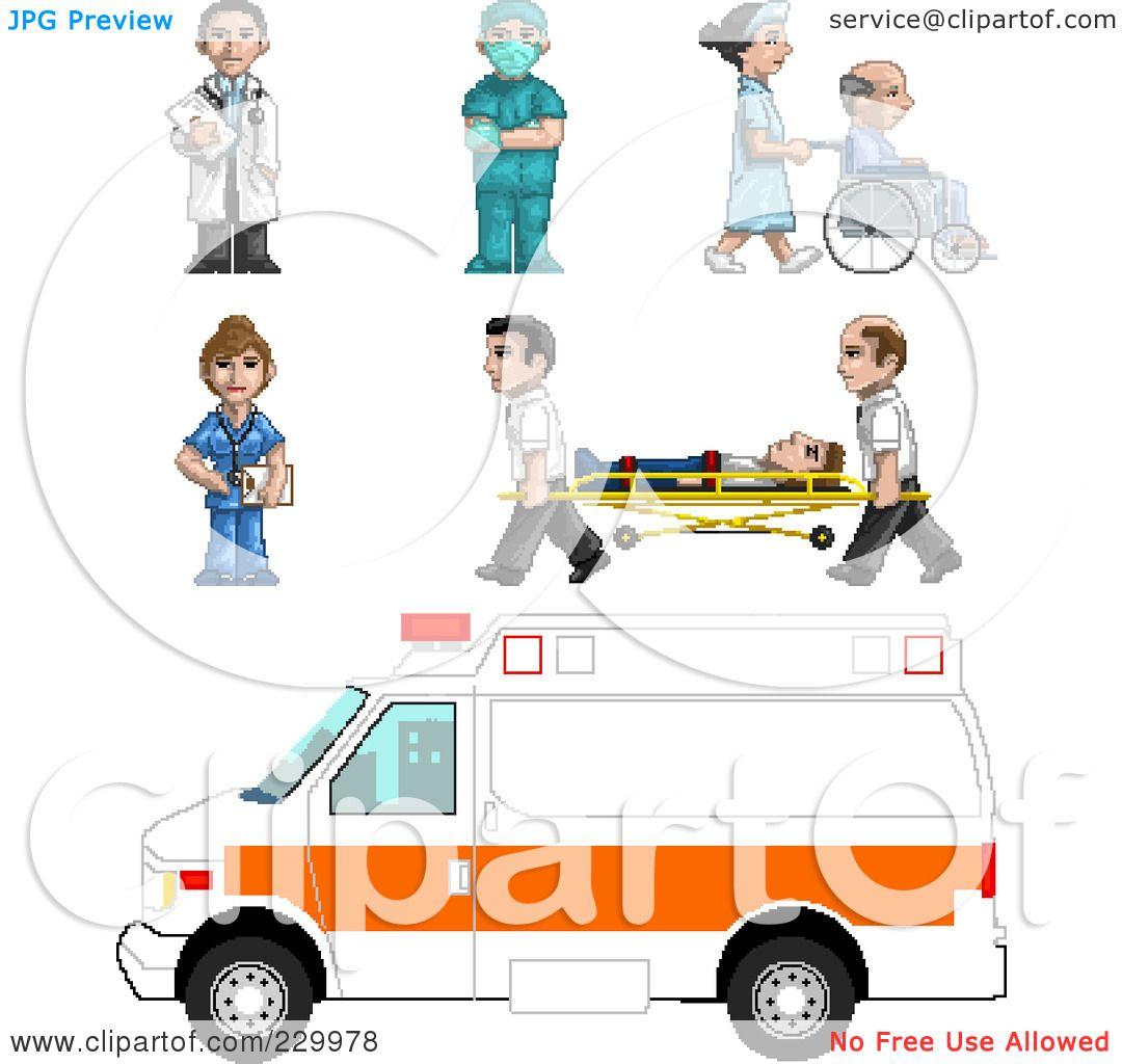 Paramedic Ambulance Clipart Royalty-free (rf) clipart