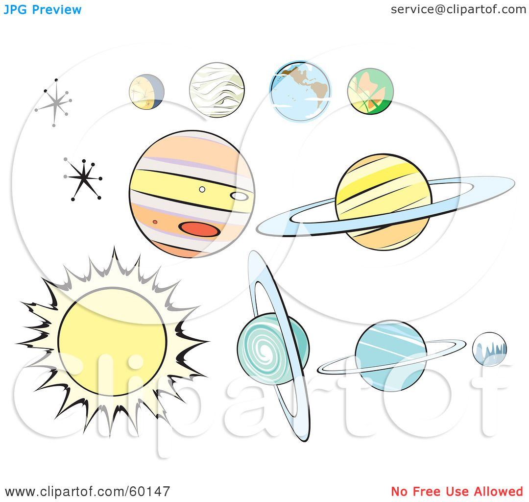 planets and stars clipart - photo #13