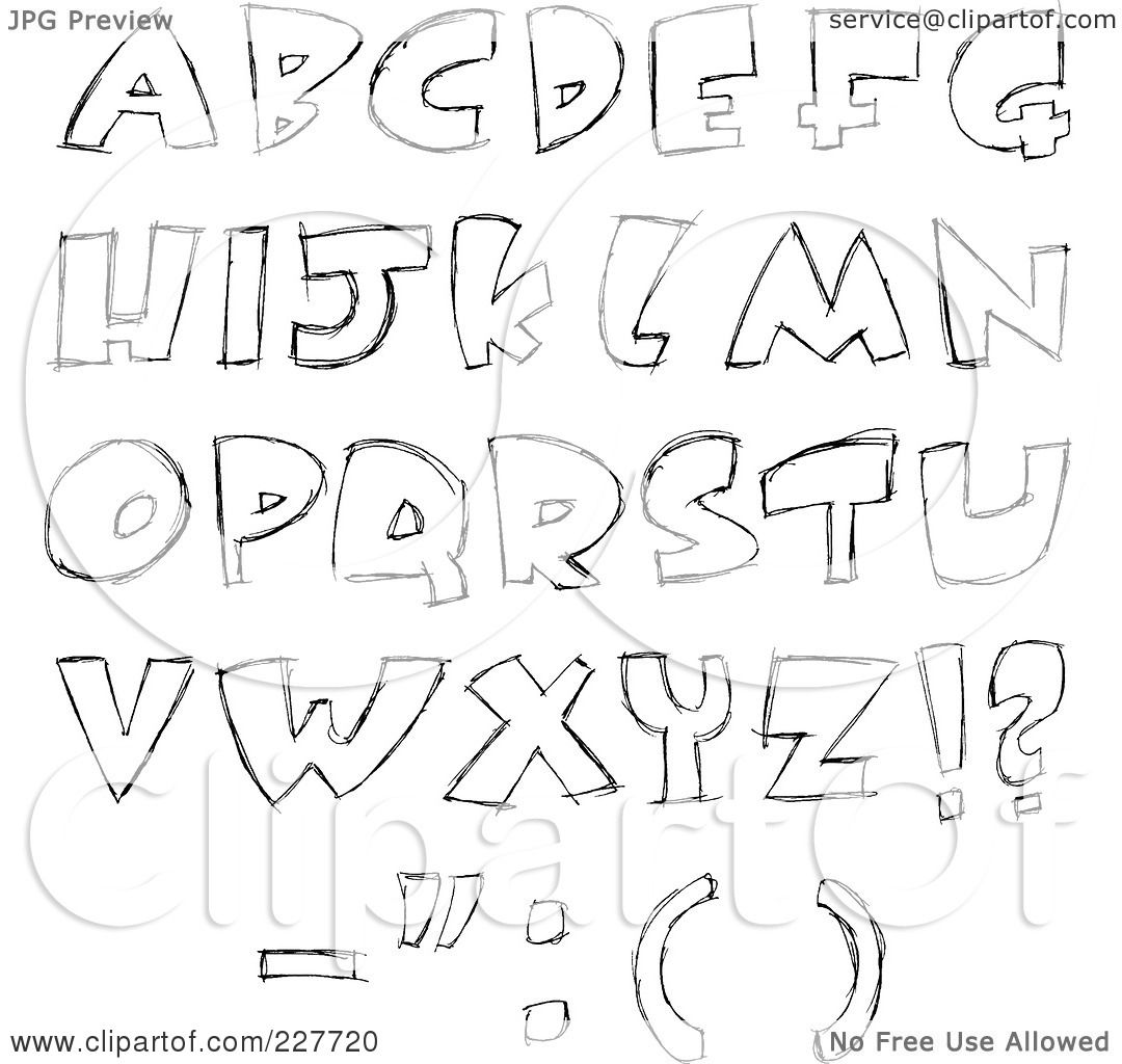 Cool Letter Designs AZ | Design images - 2