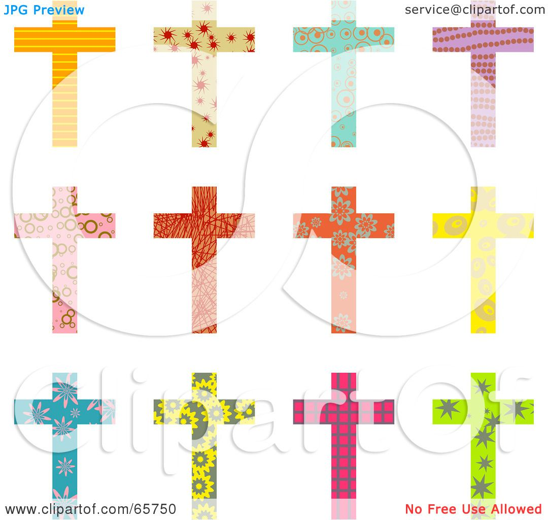Colorful Crosses Tumblr Colorful christian crosses