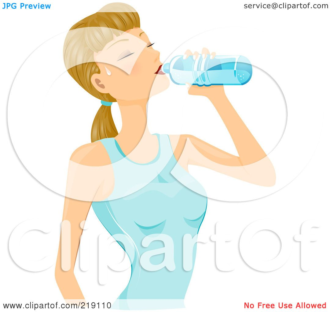 Drinking Water Clip Art Royalty-free (rf) clipart