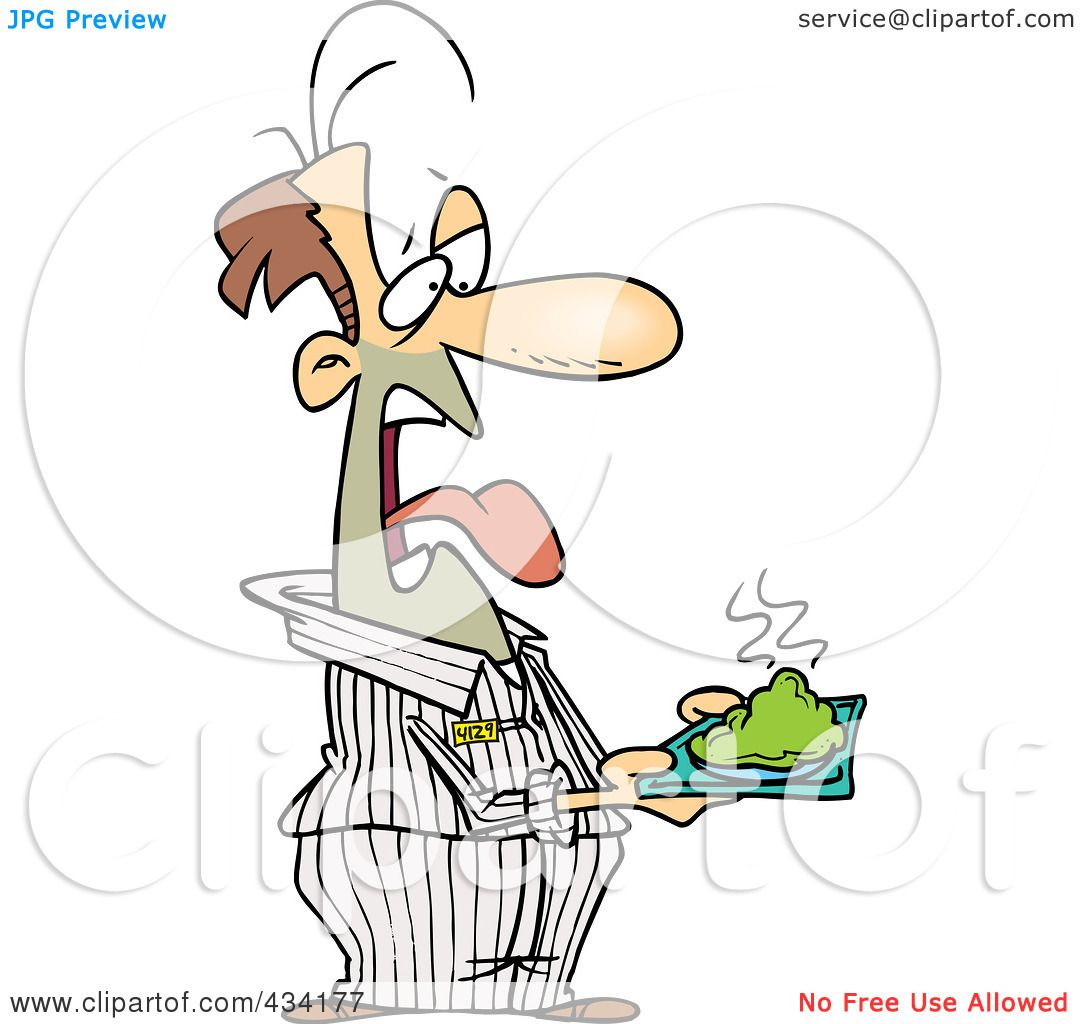 Royalty-Free (RF) Clipart Illustration of a Disgusted ...  Royalty-Free (R...