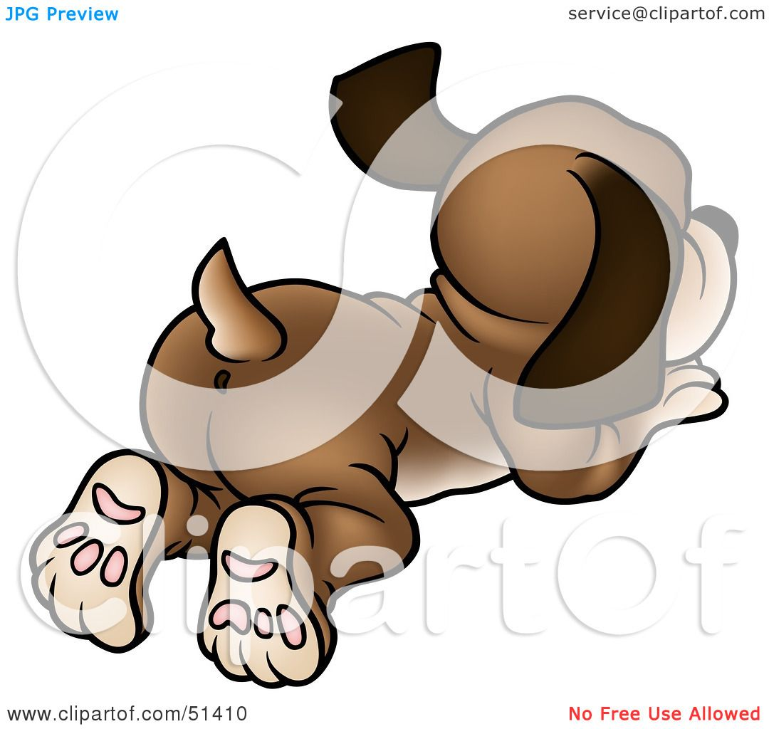 clipart dog wagging tail - photo #23