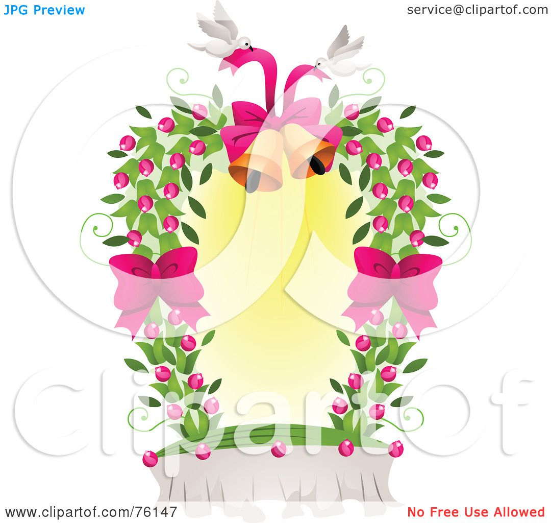 Royalty-Free (RF) Clipart Illustration Of A Dove And