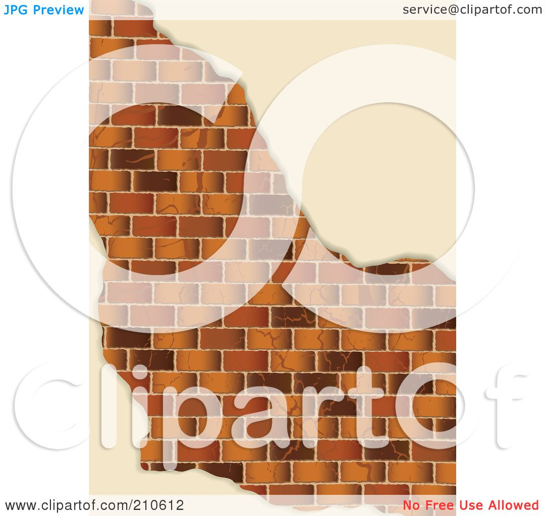 Royalty-Free (RF) Clipart Illustration of a Edges Of Plaster ...