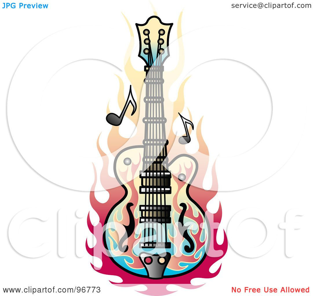 Bass Music Tattoo Design By Andy