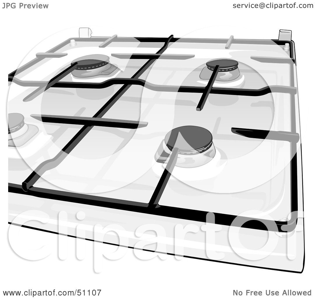 Clipart Stove Top Kitchen Stove Top by Dero
