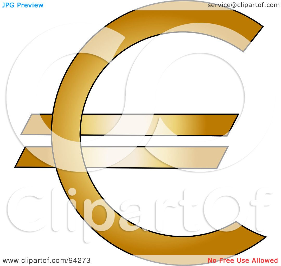 free clipart euro sign - photo #45