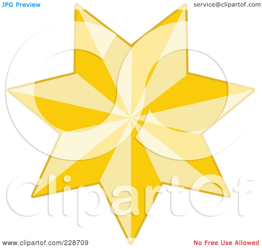 ... Silhouette Christmas star - 5 by Nativity Star Silhouette Clip Art