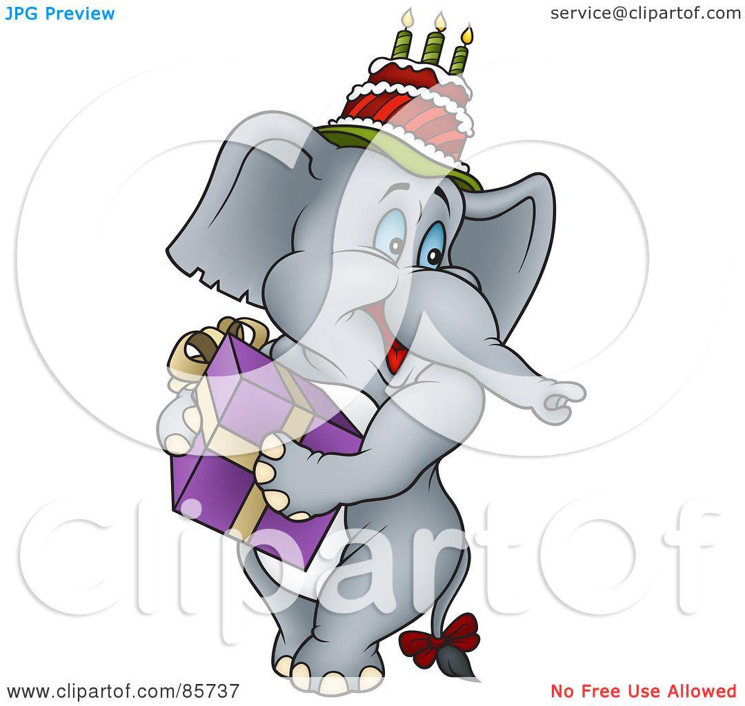 white elephant gift clipart free - photo #21