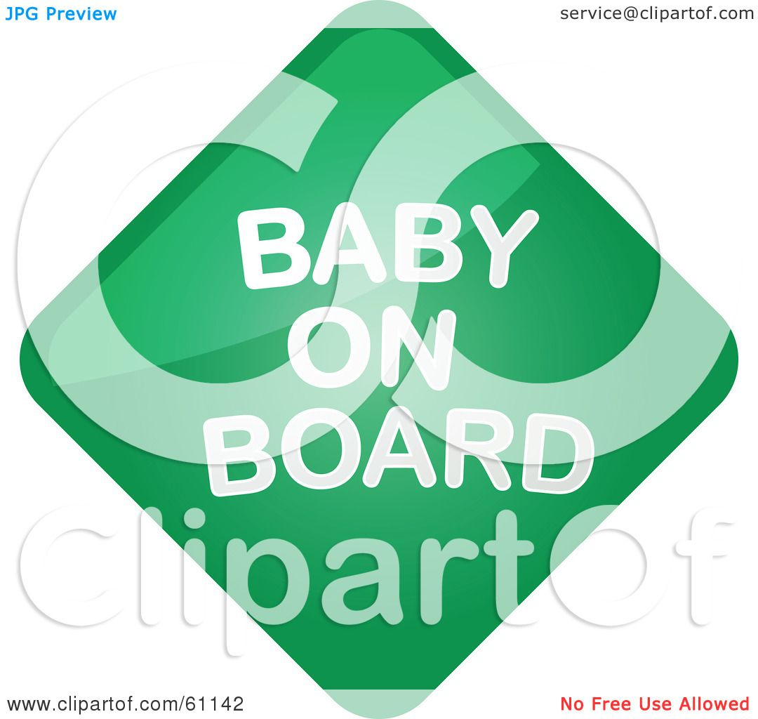 clipart baby on board-#47