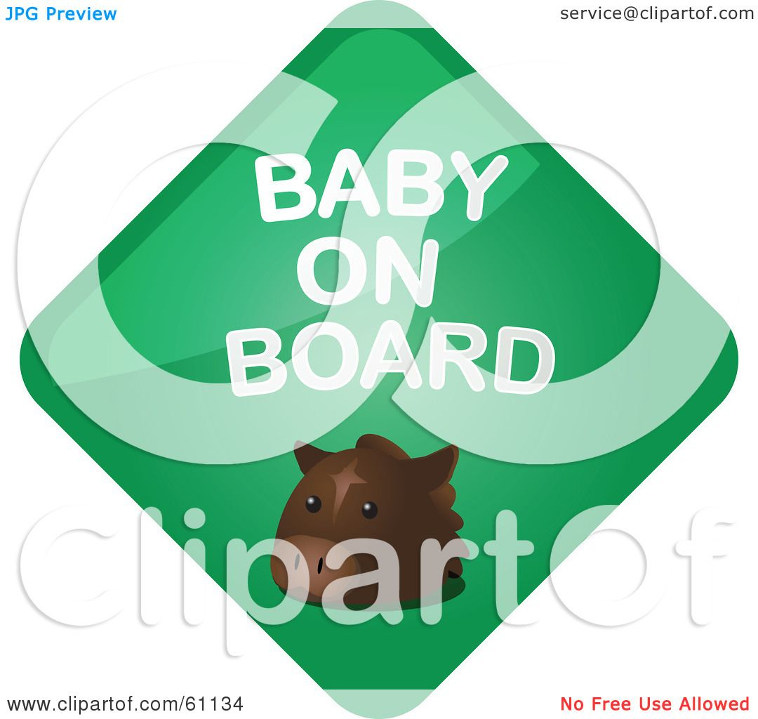 clipart baby on board - photo #32