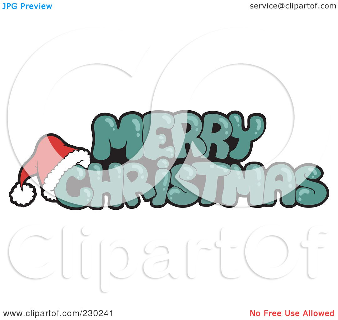 Xmas Greeting Clipart