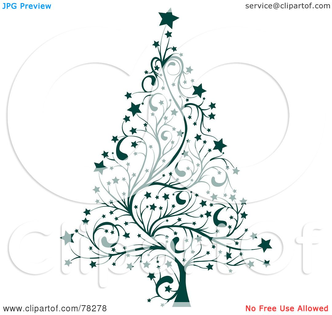 Royalty-Free (RF) Clipart Illustration of a Green Star ...