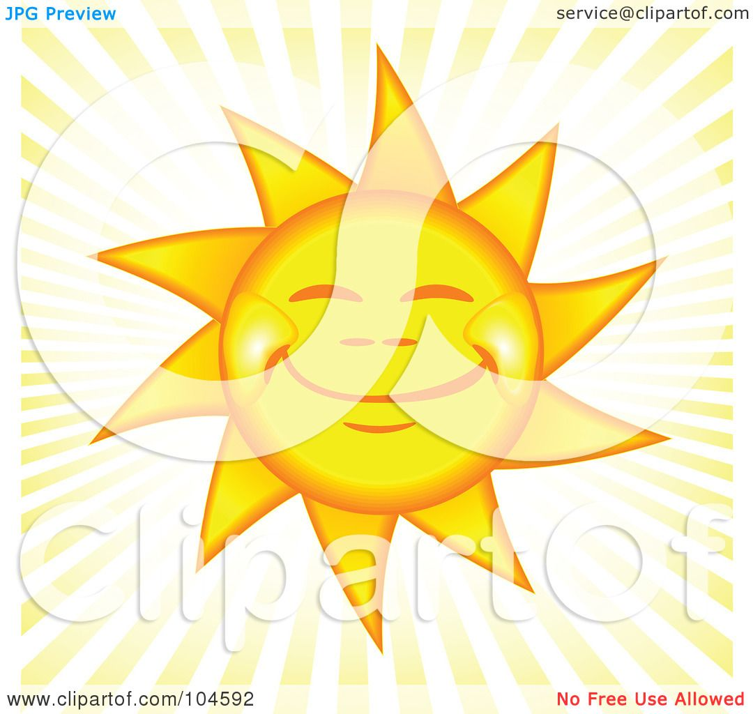 Royalty Free Rf Clipart Illustration Of A Grinning Happy